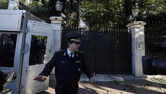 В центре Афин прогремел мощный взрыв в банке