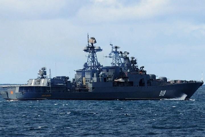 Противолодочный корабль «Североморск» обеспечит безопасность в Индийском океане