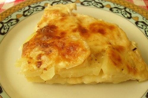 Картофельная запеканка с ливером в духовке
