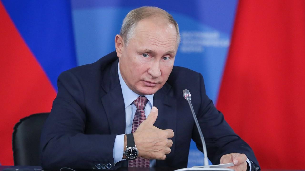 Путин на ВЭФ-2018 рассказал о приглашении Ким Чен Ына в Россию
