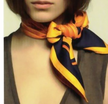 20 способов выглядеть оригинально и модно — как носить шейный платок (Фото)