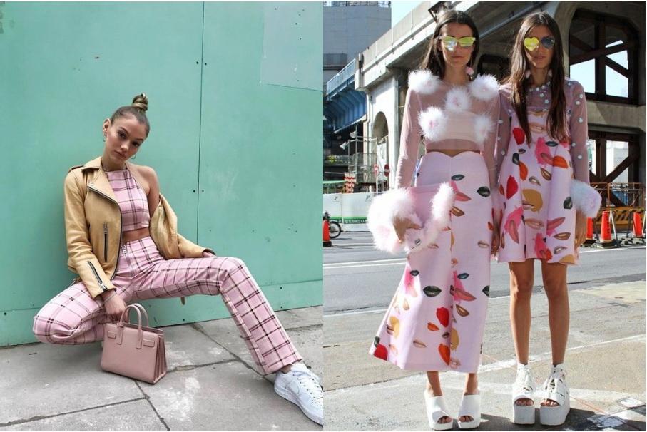 Розовый цвет твоего образа — как выглядеть стильно