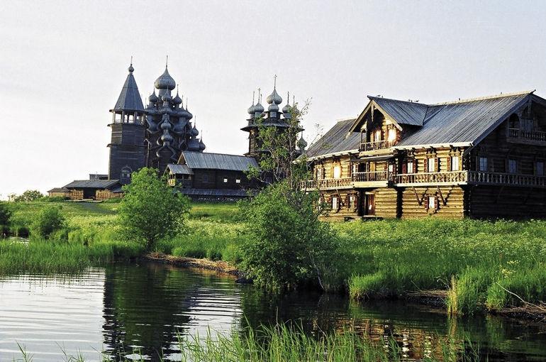 Музей заповедник Кижи: уникальная модель архитектуры Карелии (Россия)