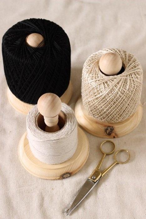 Удобные катушки для ниток, которые позволят оптимизировать любой творческий процесс.
