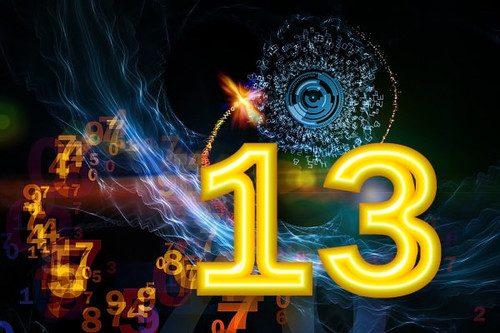Число 13 и его значение в нумерологии