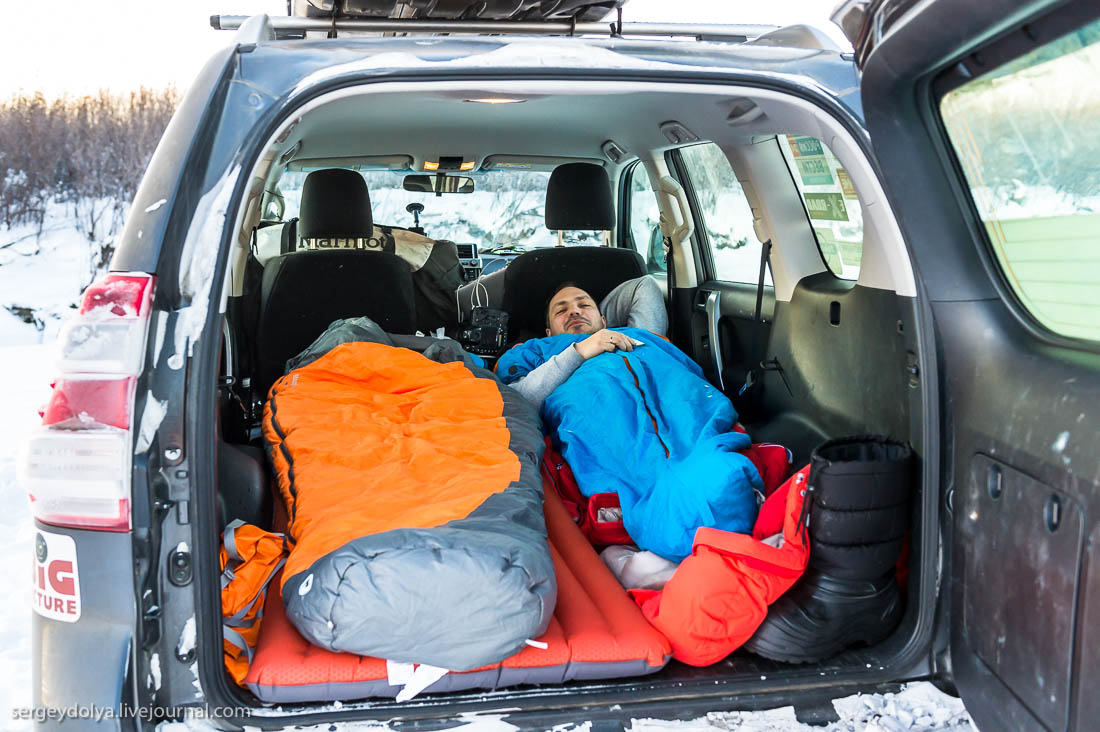 Машинный быт: как жить в тайге при -50°