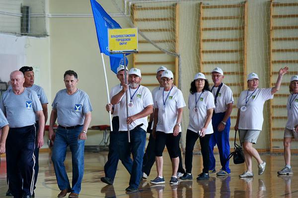 Спартакиада пенсионеров стартовала в Приморье