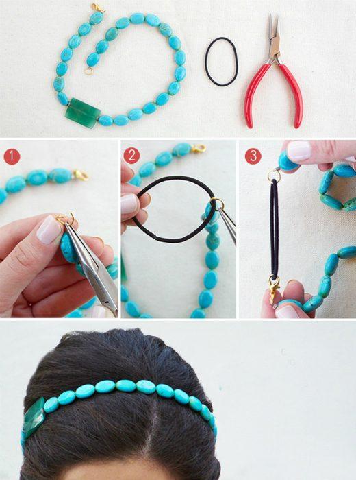 Сделать украшение из цепочек своими руками