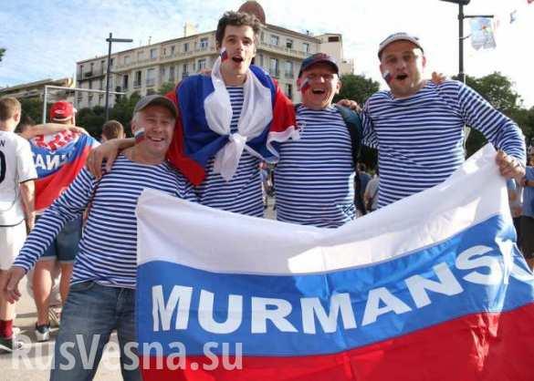 Почему победа русских фанато…