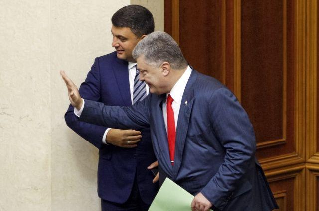 СМИ: Порошенко по ошибке зашел в переговорную комнату Лаврова в ООН