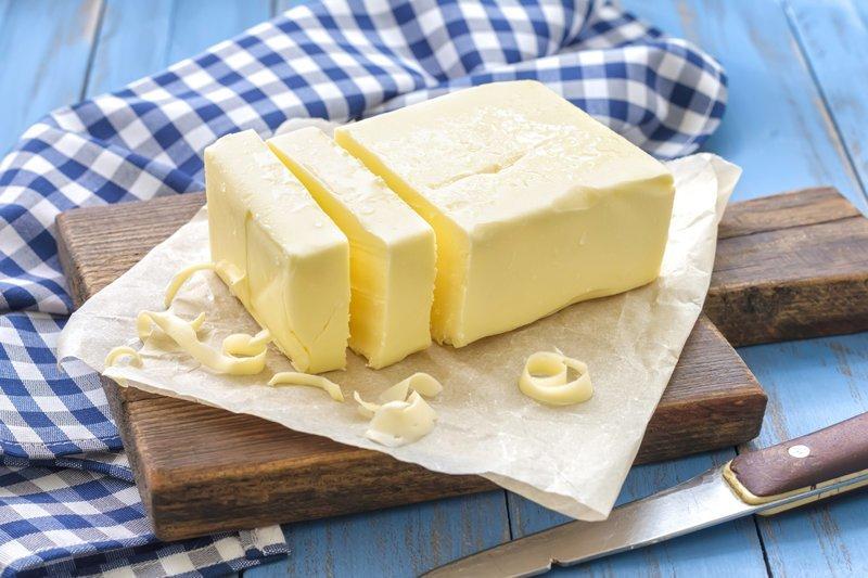 5. Сливочное масло Сливочное масло, еда, йогурт, молоко, отравление, срок годности, условия хранения