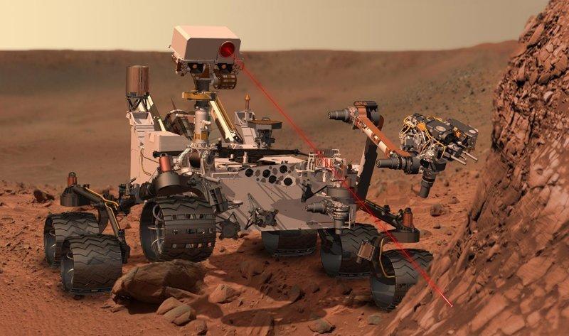 Бортовая лаборатория Curiosity снова начала работать после полуторагодового перерыва ! Астрофизика, космос, наука, факты