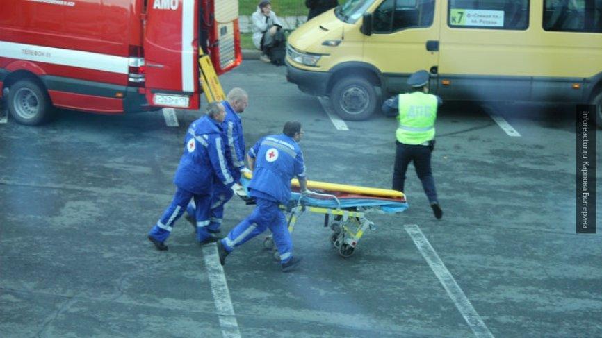 Житель Барнаула упал замертв…