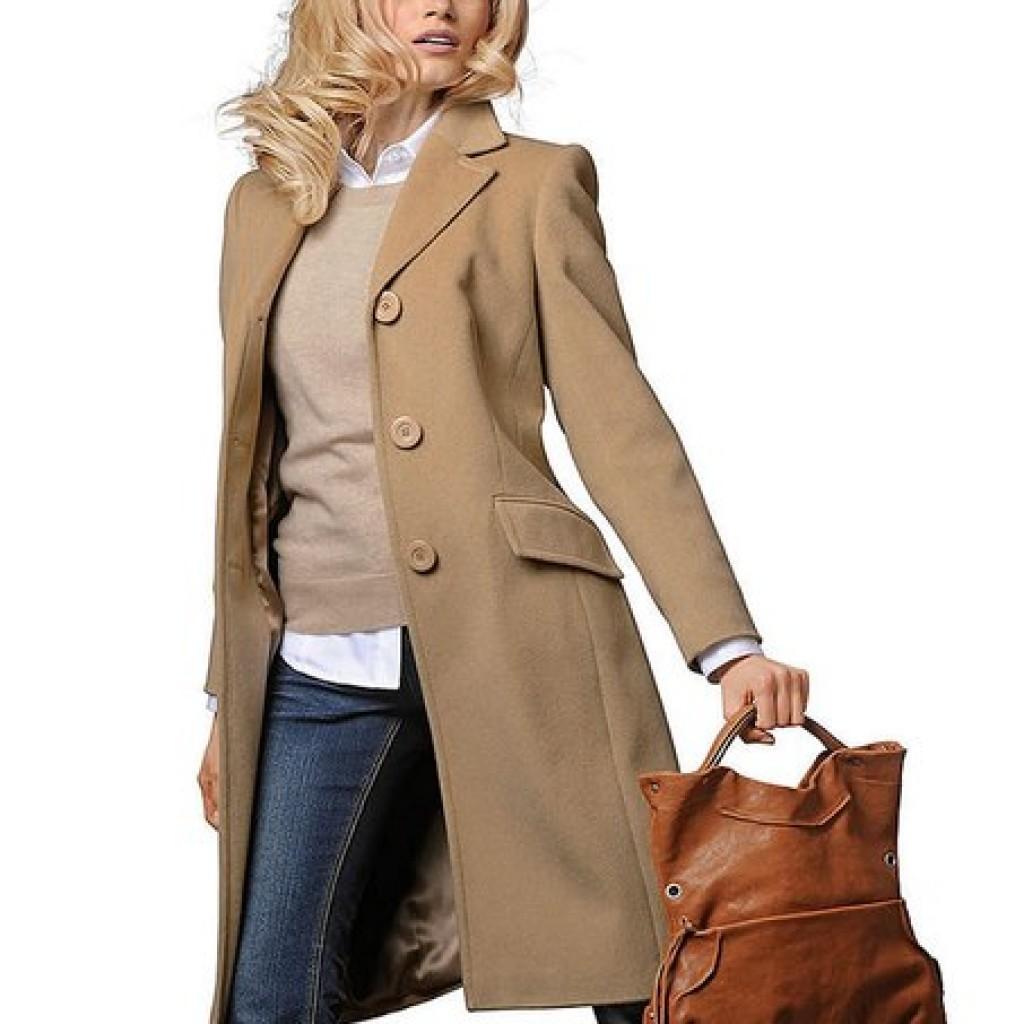 """Женское кашемировое пальто — модели для женщин размера """"плюс"""""""