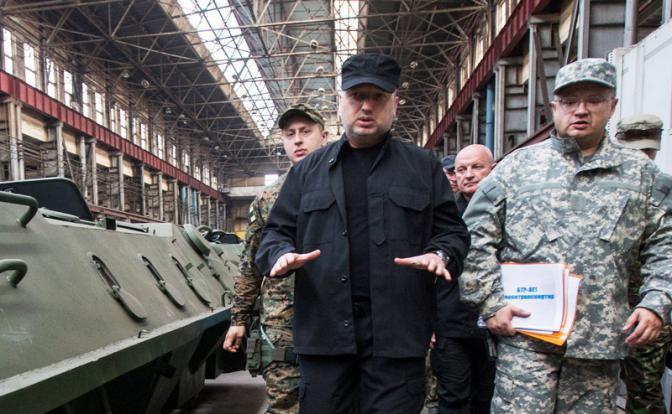 Турчинов и глава СБУ Грицак