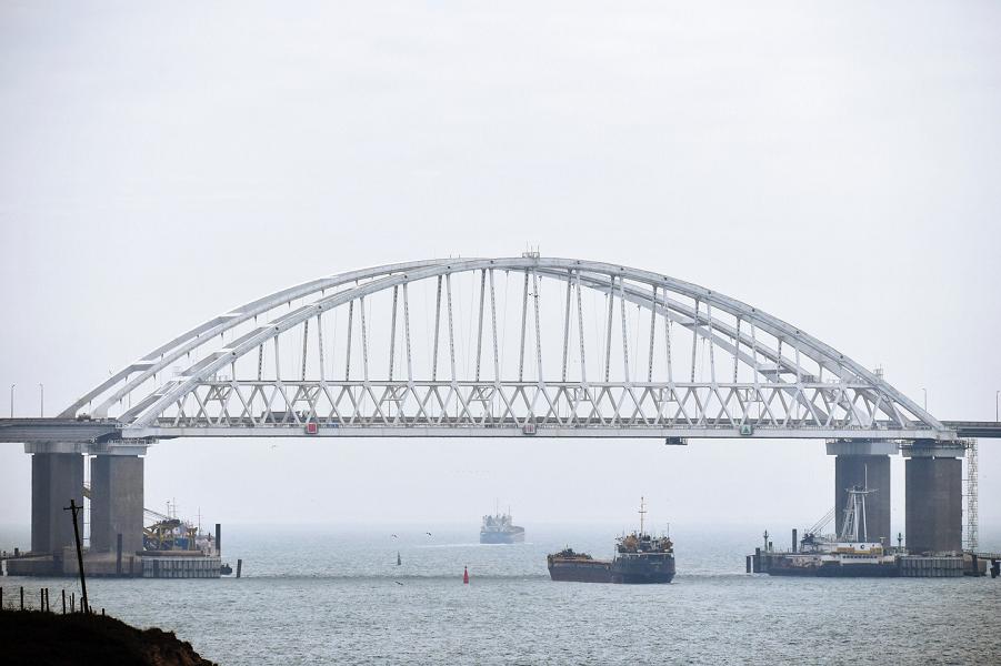 Россия не допустит иностранного контроля над Керченским проливом