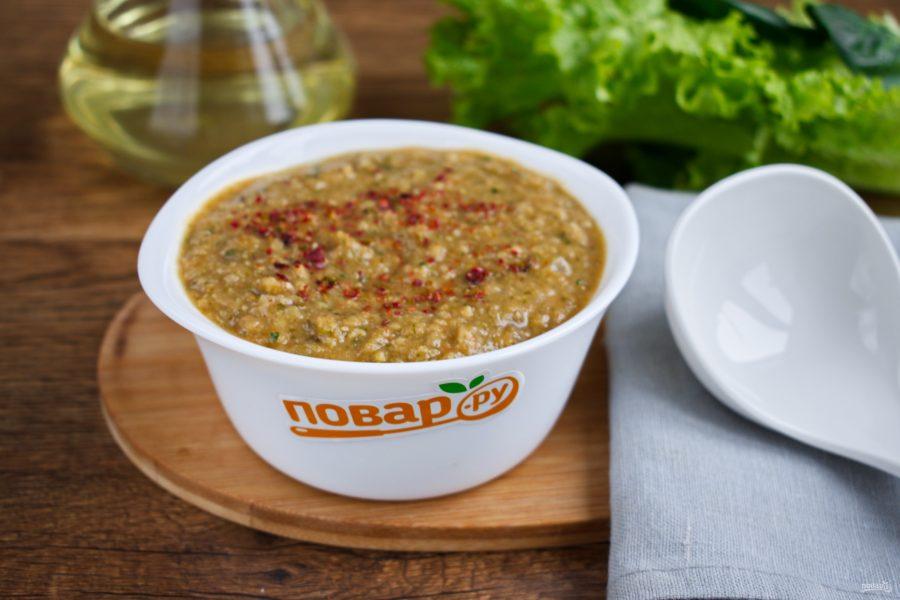 Пряный крем-суп из нута