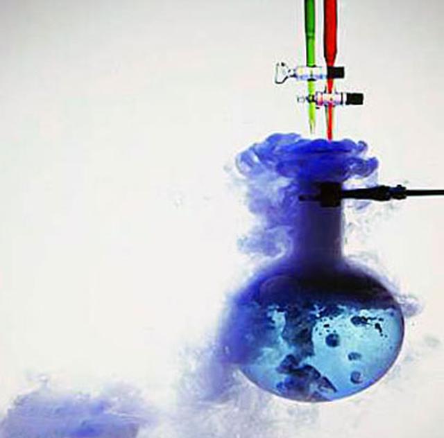 Самые невероятные химические реакции (1 фото + 24 гиф)
