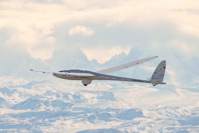 Стратосферный планер Airbus Perlan II снова установил мировой рекорд высоты полета