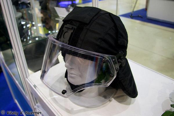 Один из самых крепких шлемов спецназа в мире из РФ, удерживающий снайперскую пулю с 10 метров: Вулкан-5