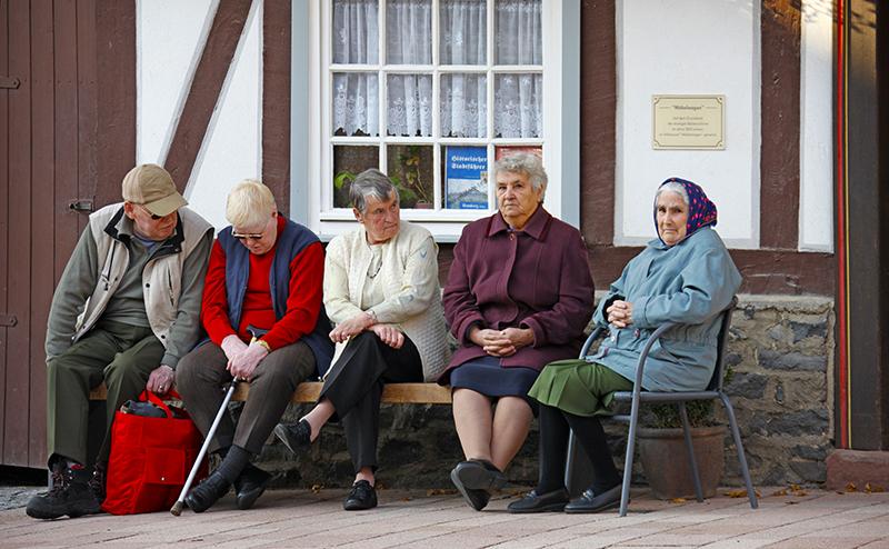 Бедность по-немецки: Как старику прожить на 800 евро