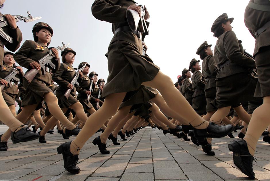 Военнослужащие Северной Кореи