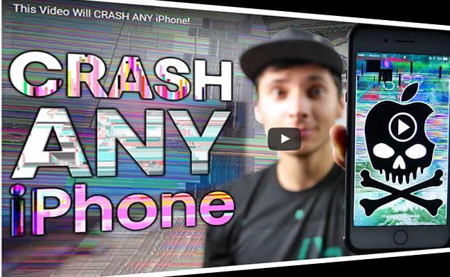 Убить iPhone с помощью видео…