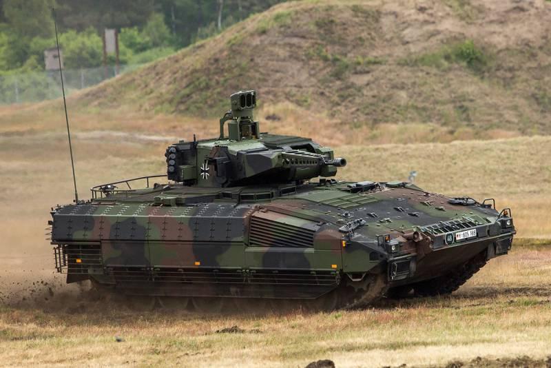 Размышления о бронировании и модернизации немецкой БМП «Пума»