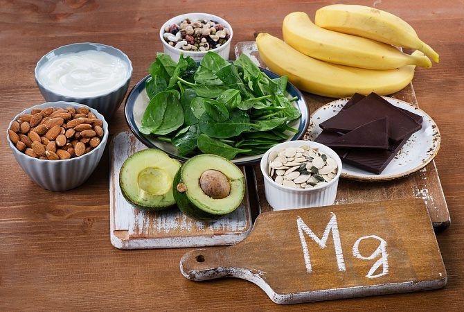 В каких продуктах есть магний