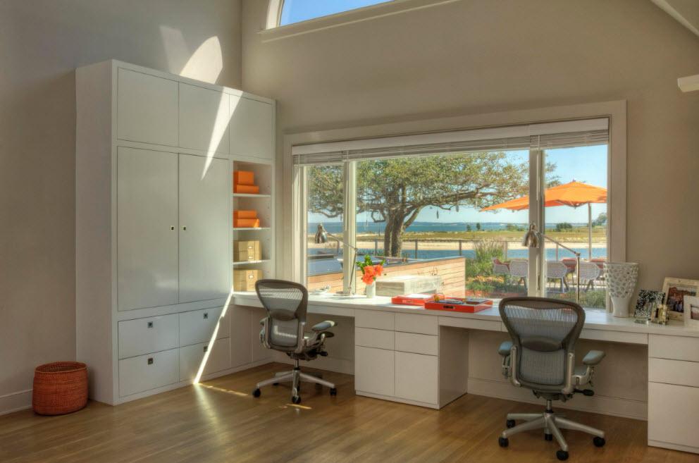Мебельный гарнитур с рабочим местом