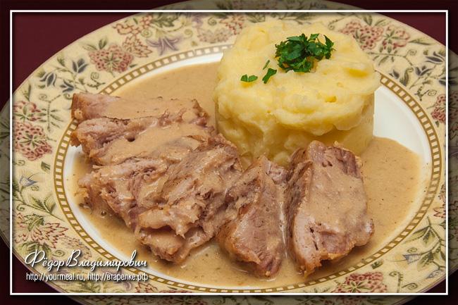 Свинина в молоке. Итальянская кухня
