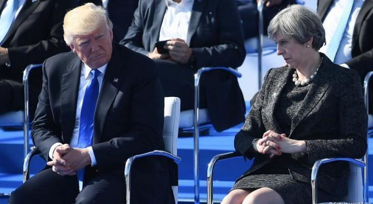 Интервью Трампа уничтожило Терезу Мэй