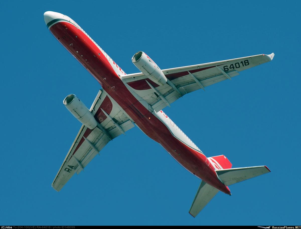 Авиакомпания Red Wings может отказаться от своих самолетов Ту-204
