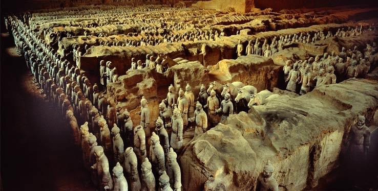 Терракотовая армия в Китае — величайшее открытие XX века