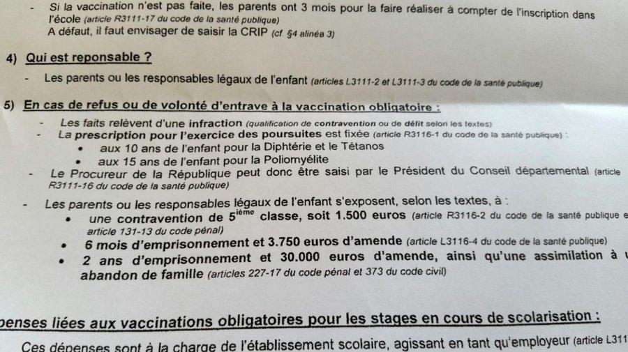 Чем грозит отказ от прививания детей во Франции