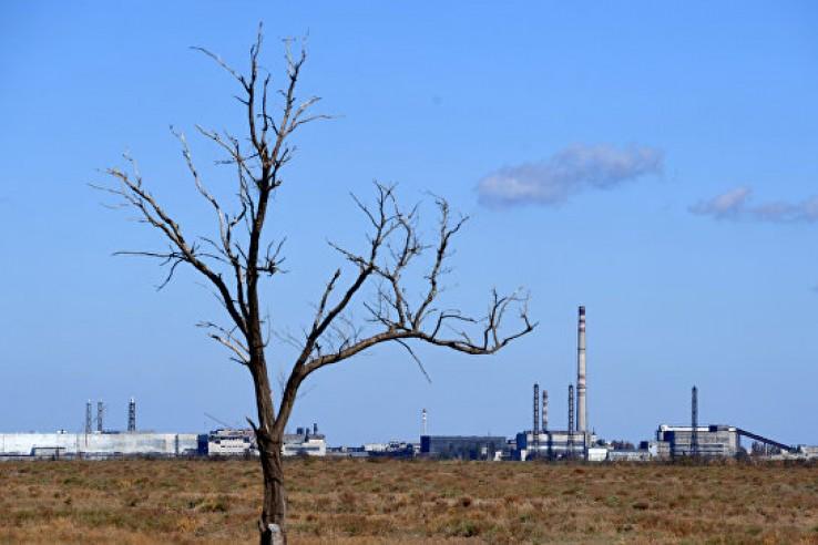 Завод «Крымский титан» в Арм…