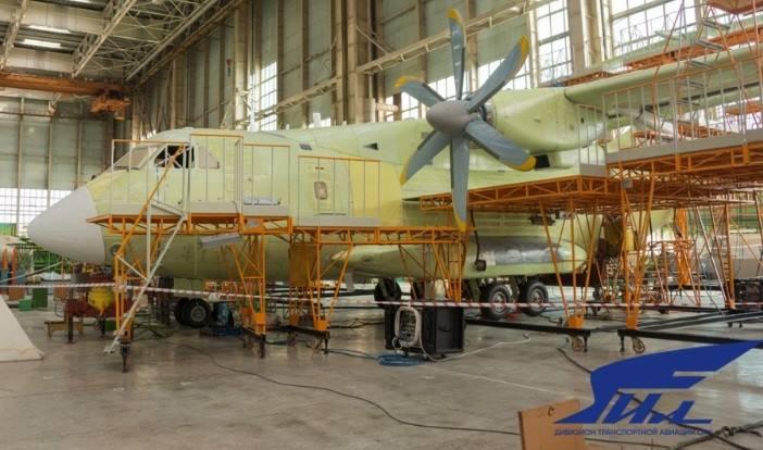 Первый опытный образец самолета Ил-112В на пороге летных испытаний
