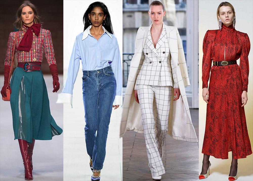 Женская мода – тенденции на  сезон осень-зима 2018-2019