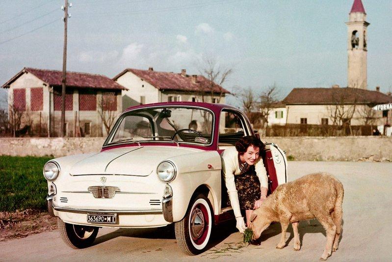 Автомобиль для девочек - Autobianchi Bianchina
