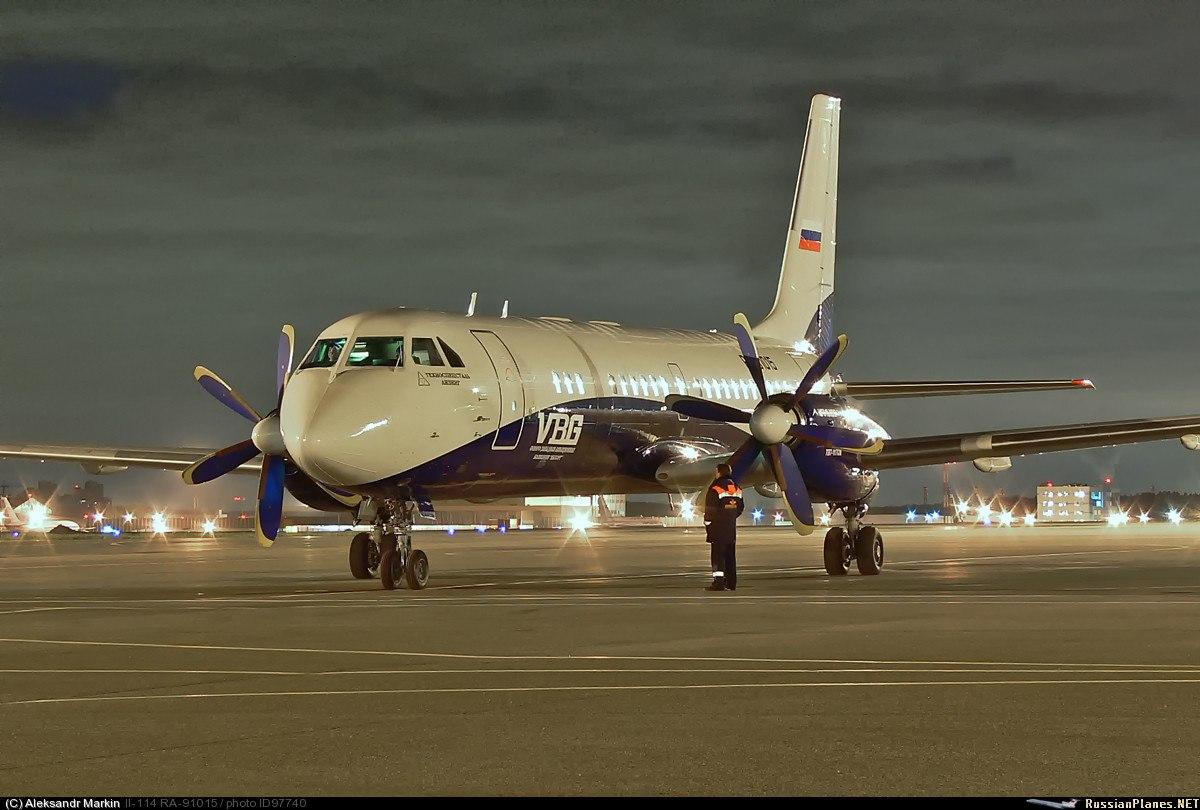 Ил-114 получил команду на взлет