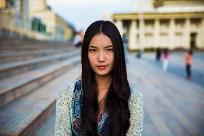 Повседневная монгольская одежда.