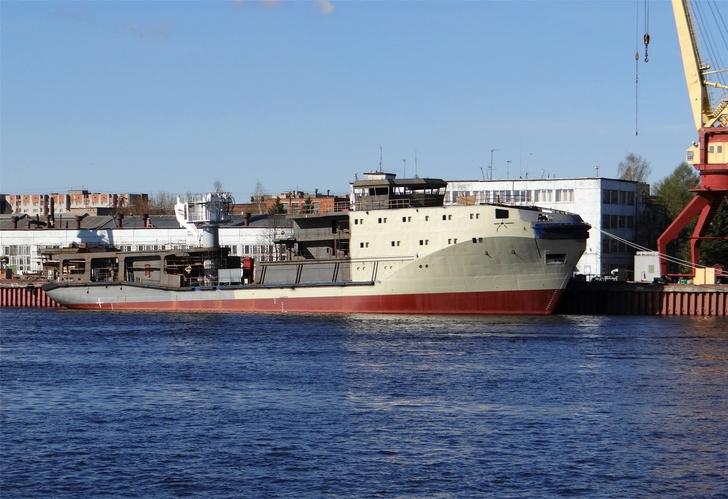Строительство морского буксира «Сергей Балк»