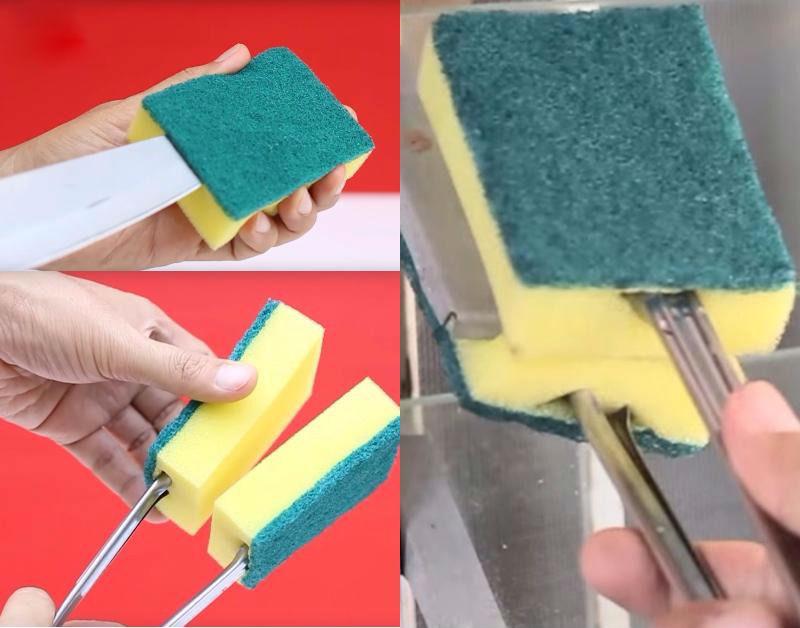Используй губку именно так и уборка станет удовольствием!