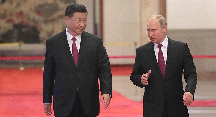 А вот с товарищем Си у Путин…