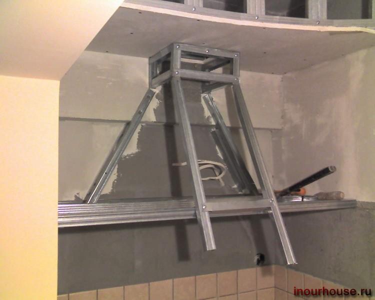 Кухонная вытяжка своими руками фото