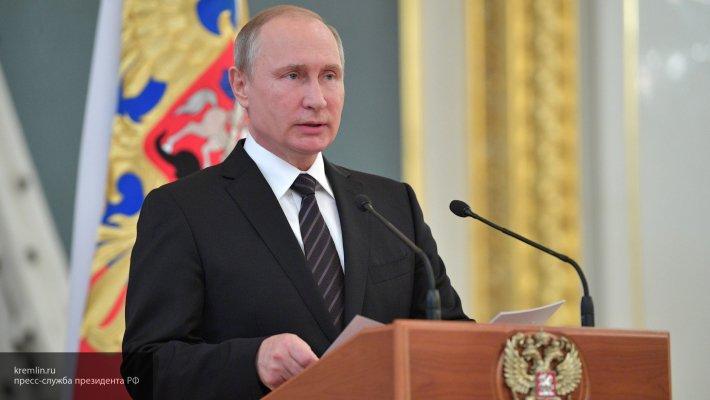 Путин заявил, что зарубежные спецслужбы поддерживают экстремистов у границ РФ
