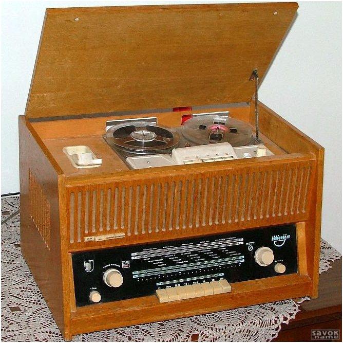 1)катушечный ламповый магнитофон днепр-3