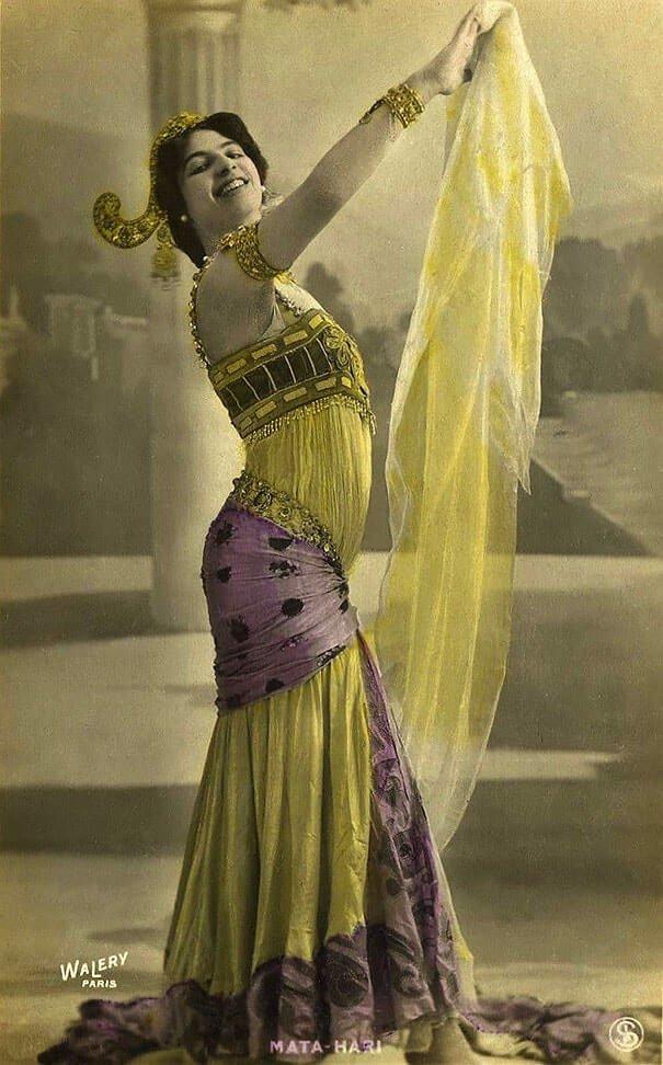 Мата Хари 20 век, красота, фото