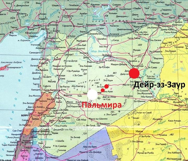 Большой путинский провал. После Пальмиры Сирийская армия берёт новые города