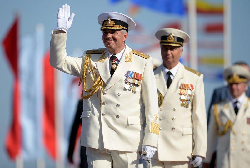 Черноморский флот посмеялся над вызовом своего командующего на допрос